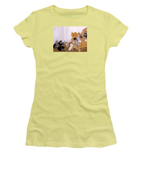 Kitty Litter II Women's T-Shirt (Athletic Fit)