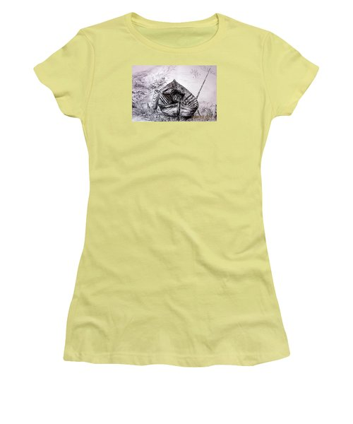 Klotok  Women's T-Shirt (Junior Cut) by Jason Sentuf