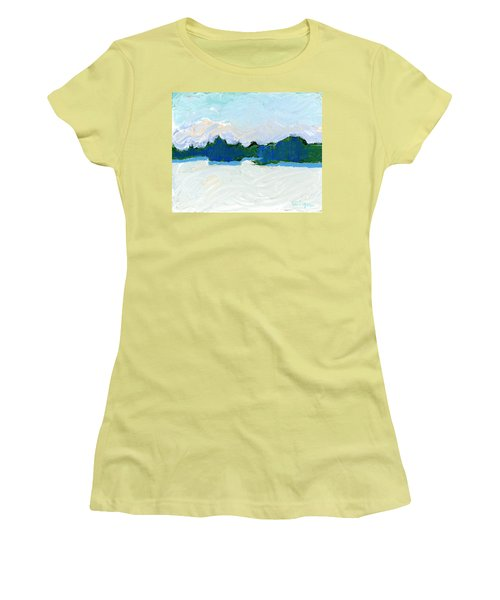 Knife Lake Women's T-Shirt (Athletic Fit)