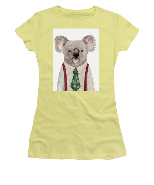 Koala Women's T-Shirt (Athletic Fit)