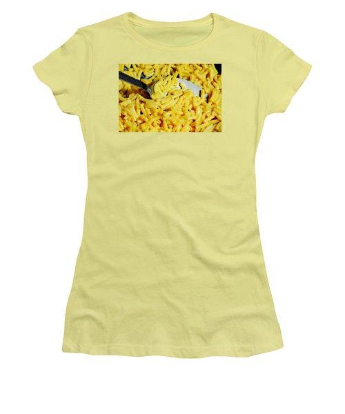 Kraft Mac'n Cheese Women's T-Shirt (Junior Cut) by Diana Angstadt