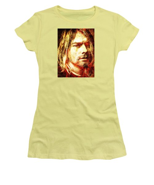 Kurt Women's T-Shirt (Junior Cut) by J- J- Espinoza