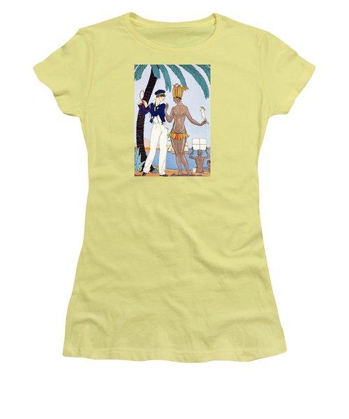 La Jolie Insulaire Women's T-Shirt (Athletic Fit)