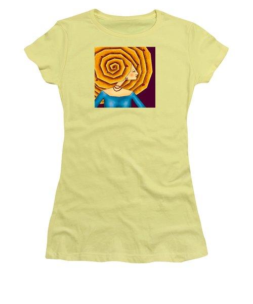La Ruche Women's T-Shirt (Junior Cut) by Brenda Bryant