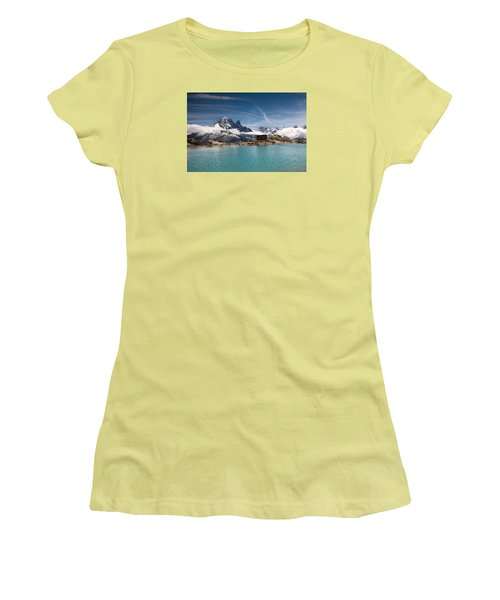 Lac Blanc Women's T-Shirt (Athletic Fit)