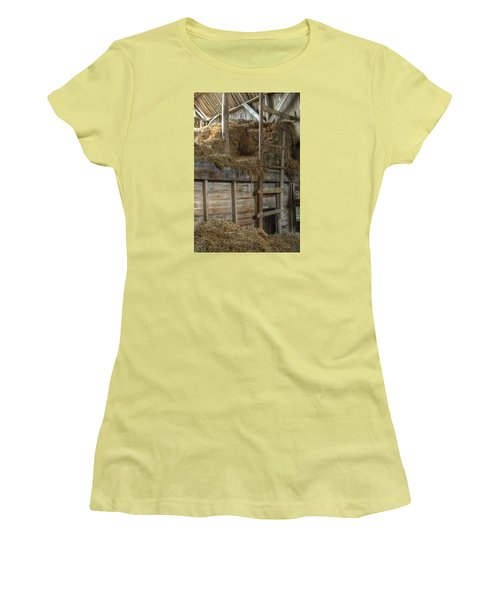 Ladder To The Loft Women's T-Shirt (Athletic Fit)