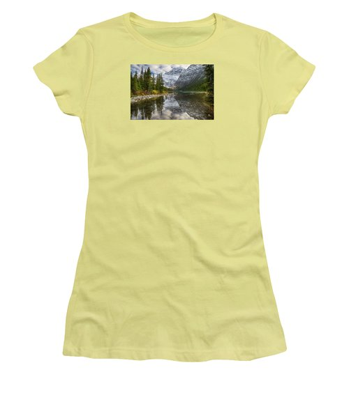 Lake Cavell Women's T-Shirt (Junior Cut) by John Gilbert