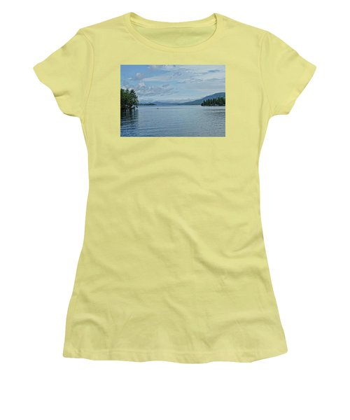 Lake George Kayaker Women's T-Shirt (Athletic Fit)