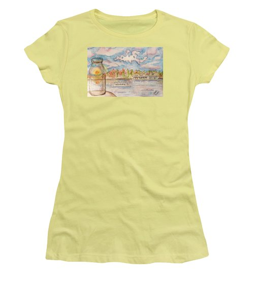 Lake Hopatcong Women's T-Shirt (Athletic Fit)