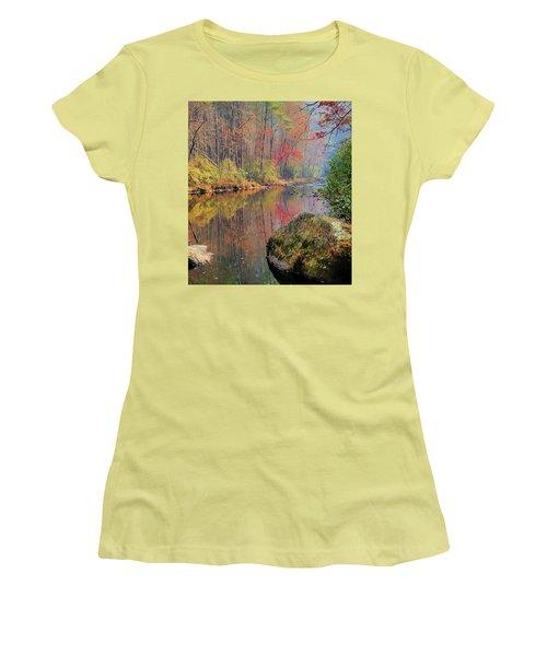 Chattooga Paradise Women's T-Shirt (Junior Cut) by Steven Richardson