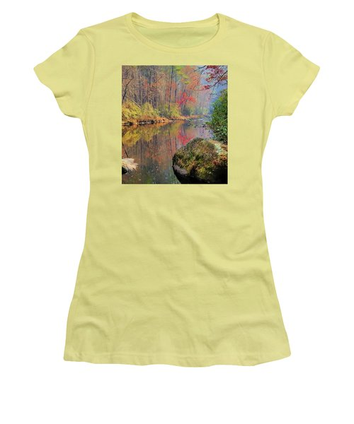 Chattooga Paradise Women's T-Shirt (Athletic Fit)