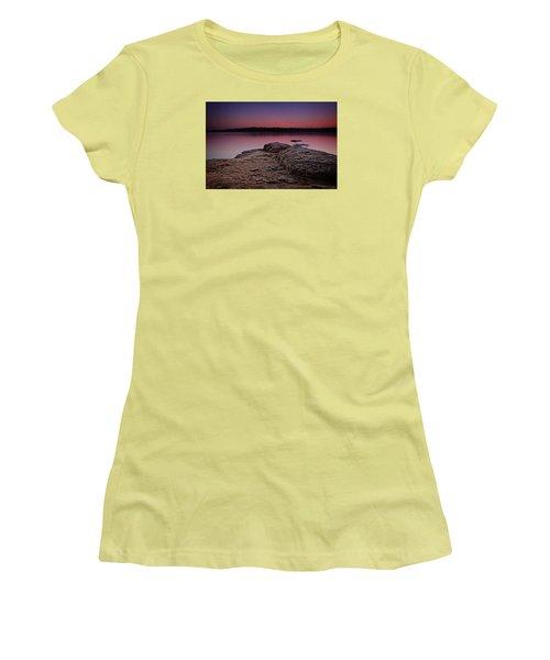 Lake Sunset Viii Women's T-Shirt (Junior Cut)