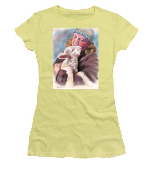 Lambie Love Women's T-Shirt (Athletic Fit)