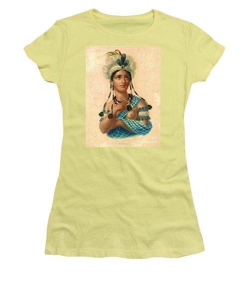 L'amerique 1820 Women's T-Shirt (Junior Cut) by Padre Art