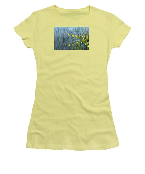 Land And Water Plants  Women's T-Shirt (Junior Cut) by Lyle Crump