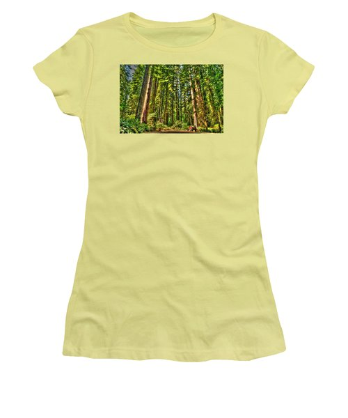 Land Of The Giants Women's T-Shirt (Athletic Fit)