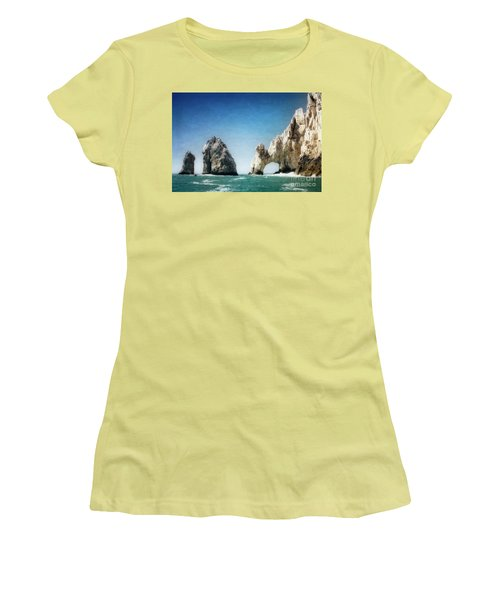 Lands End Women's T-Shirt (Athletic Fit)