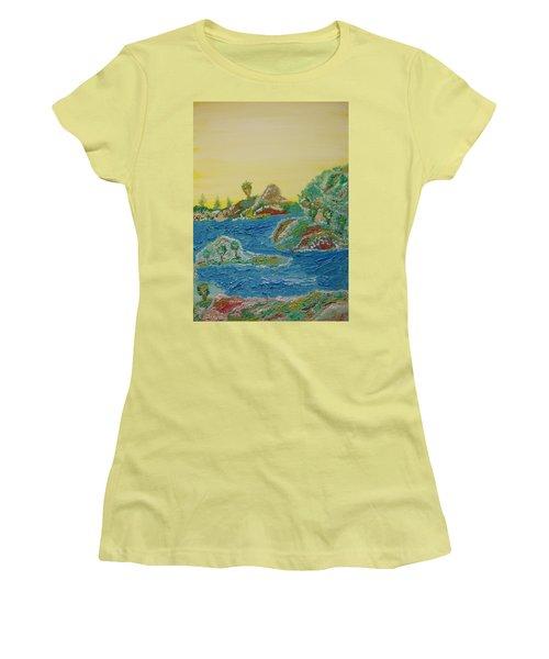 Landscape. Fantasy 28. Women's T-Shirt (Athletic Fit)