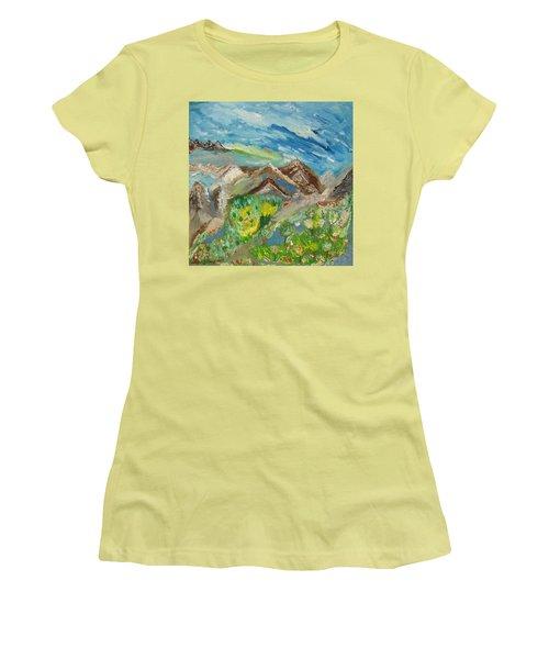 Landscape. Imagination 24. Women's T-Shirt (Athletic Fit)