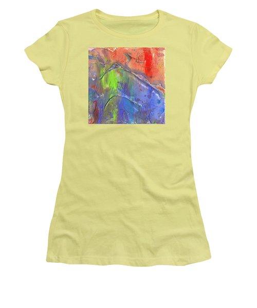 Landslide Women's T-Shirt (Junior Cut) by Phil Strang
