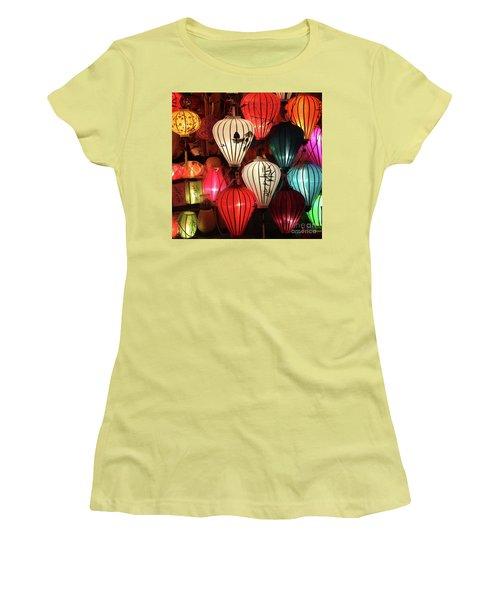 Lanterns Colors Hoi An Women's T-Shirt (Athletic Fit)