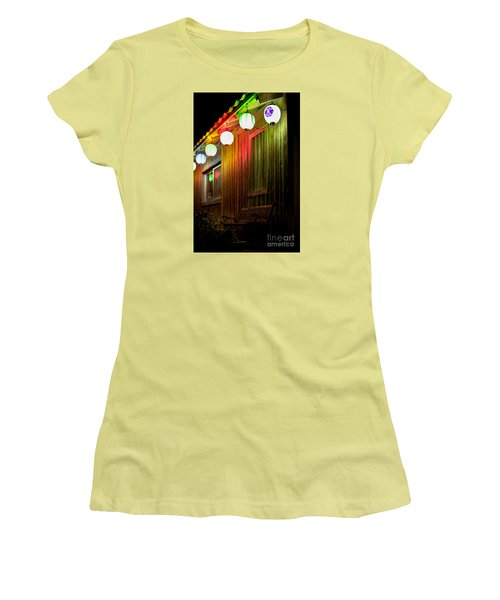 Lanterns Light The Bench Women's T-Shirt (Athletic Fit)