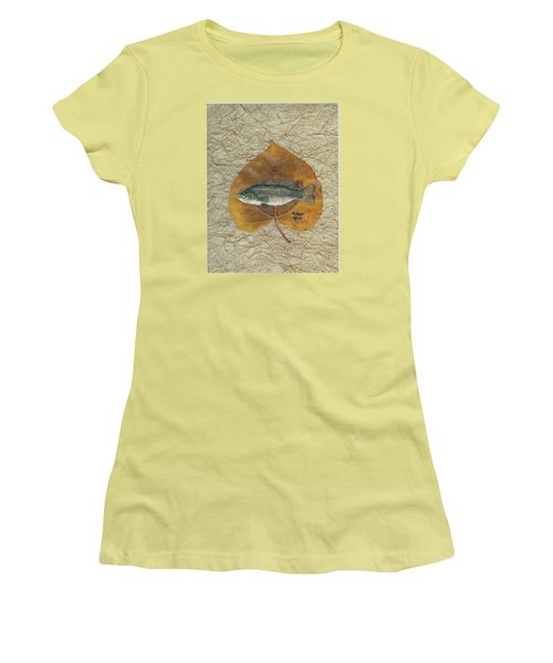 Large Mouth Bass #3 Women's T-Shirt (Athletic Fit)