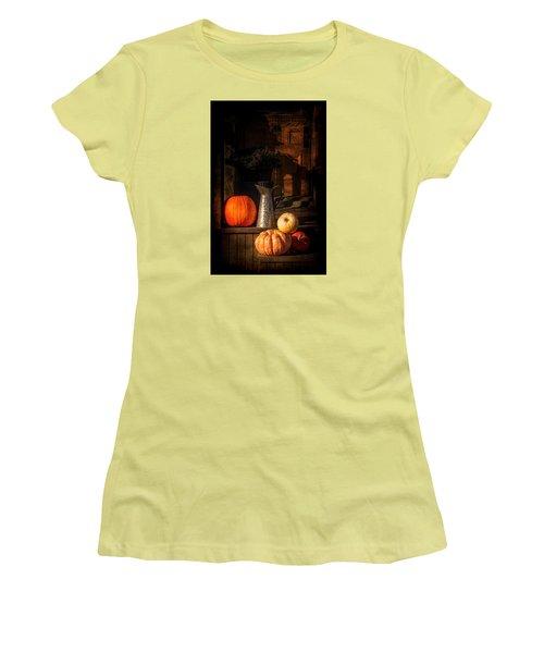 Last Autumn Sunlight Women's T-Shirt (Junior Cut) by Celso Bressan