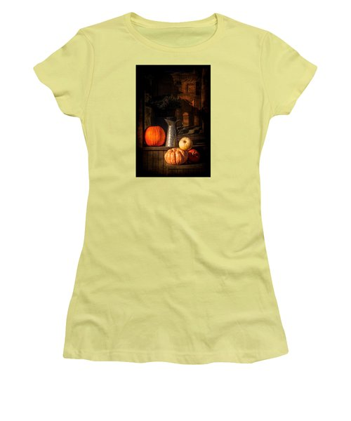 Last Autumn Sunlight Women's T-Shirt (Athletic Fit)