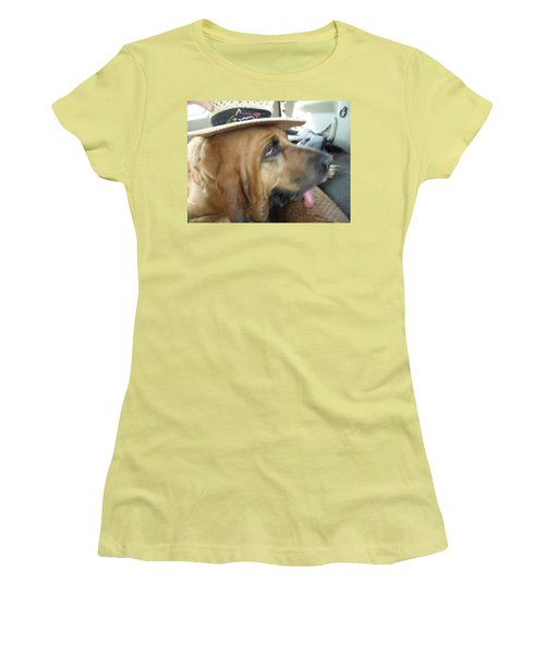 Last Car Ride Women's T-Shirt (Junior Cut) by Val Oconnor