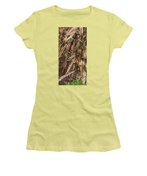 Last Ear Standing Women's T-Shirt (Junior Cut) by Arlene Carmel