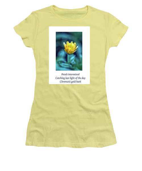 Last Light Haiku Women's T-Shirt (Athletic Fit)