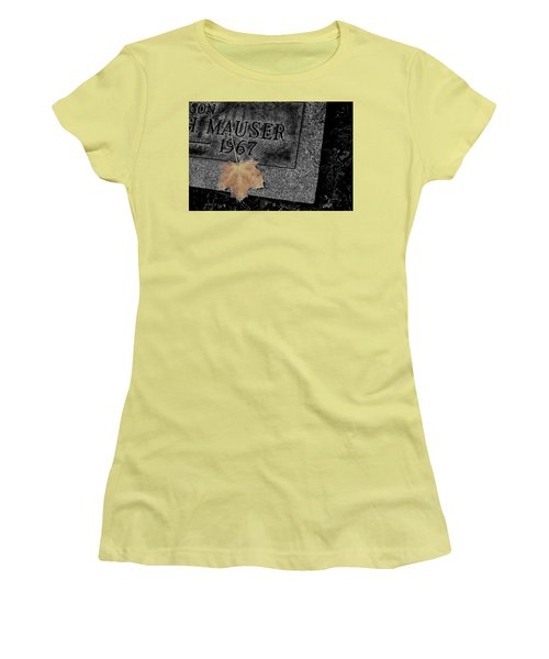 Last Piece Of Fall Women's T-Shirt (Athletic Fit)