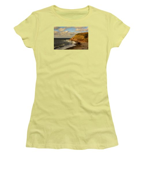 Late In The Day In Cheticamp Women's T-Shirt (Junior Cut) by Ken Morris