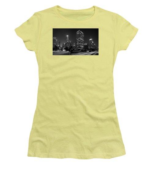 Late Night La Women's T-Shirt (Athletic Fit)