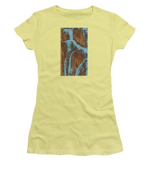Women's T-Shirt (Junior Cut) featuring the digital art Late Summer by Robin Regan