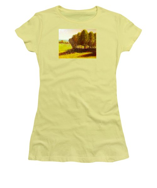 Later Summer Shade Women's T-Shirt (Athletic Fit)