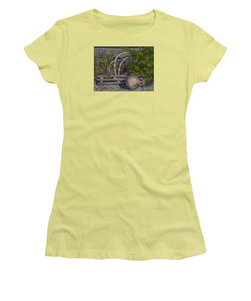 Lavender And Lobster Women's T-Shirt (Junior Cut) by Jane Thorpe