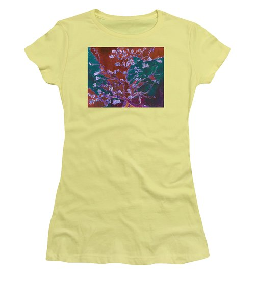 Layered 2 Van Gogh Women's T-Shirt (Junior Cut) by David Bridburg