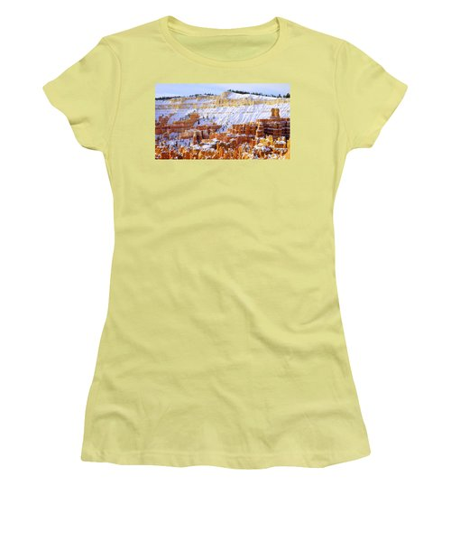 Women's T-Shirt (Junior Cut) featuring the photograph Layers by Chad Dutson
