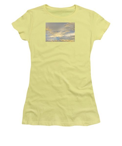 Women's T-Shirt (Athletic Fit) featuring the photograph Layers by Wanda Krack