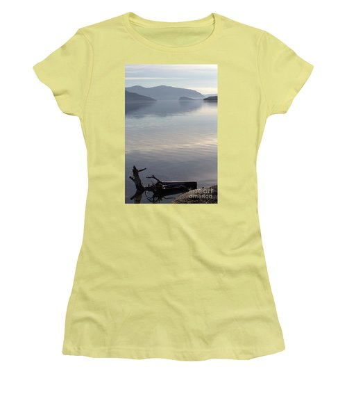 Women's T-Shirt (Junior Cut) featuring the photograph Laying Still by Victor K