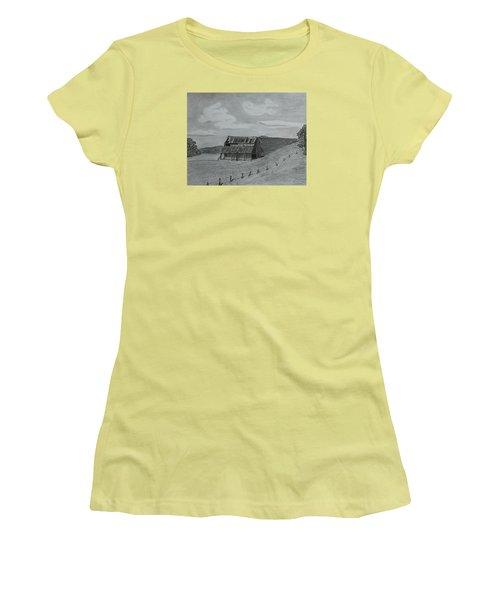 Lazy  Days  Women's T-Shirt (Junior Cut) by Tony Clark