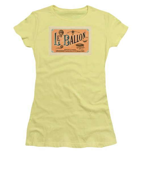 Le Balloon Women's T-Shirt (Athletic Fit)
