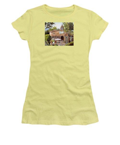 Le Petite Chapelle Women's T-Shirt (Junior Cut) by Alan Lakin