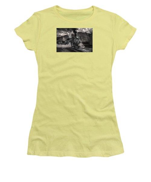 Leaving Durango For Silverton Women's T-Shirt (Junior Cut) by William Fields