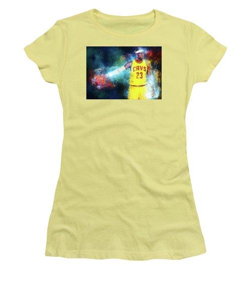 Lebron James Women's T-Shirt (Athletic Fit)