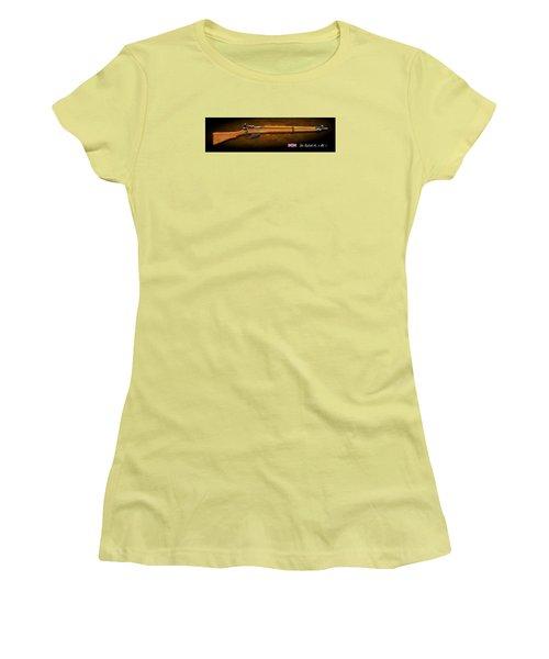 Lee Enfield British Firearm Study Women's T-Shirt (Athletic Fit)