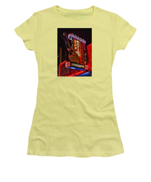 Legends Corner Nashville Women's T-Shirt (Athletic Fit)