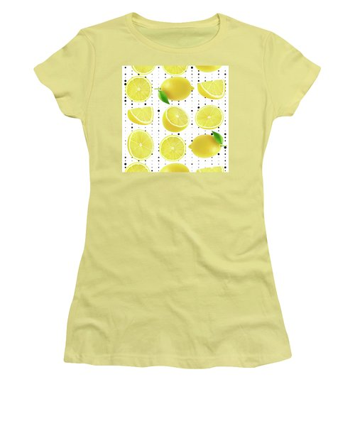 Lemon  Women's T-Shirt (Athletic Fit)